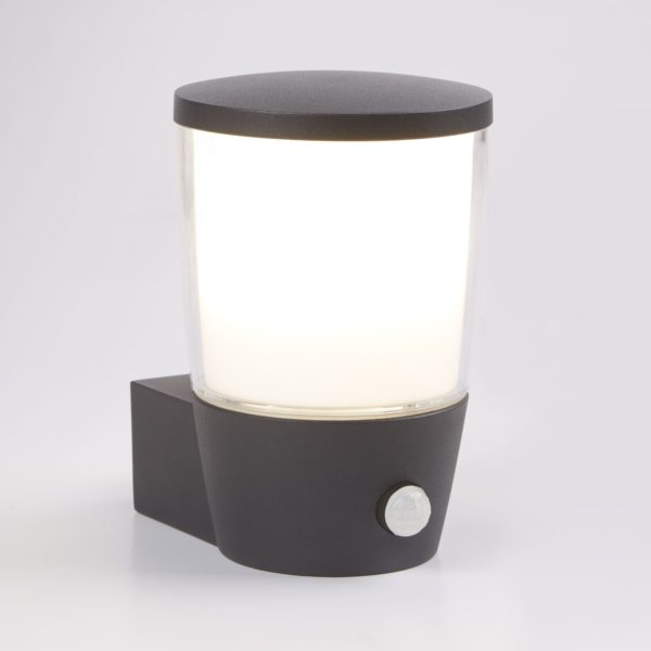 0587GY Tucson Outdoor PIR Wall Light