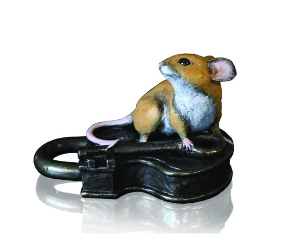 Mouse On Antique Lock