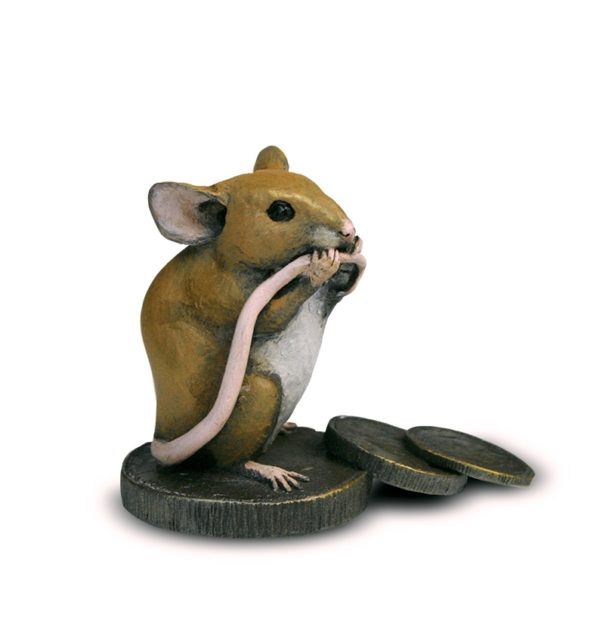 Mouse on Old Pennies