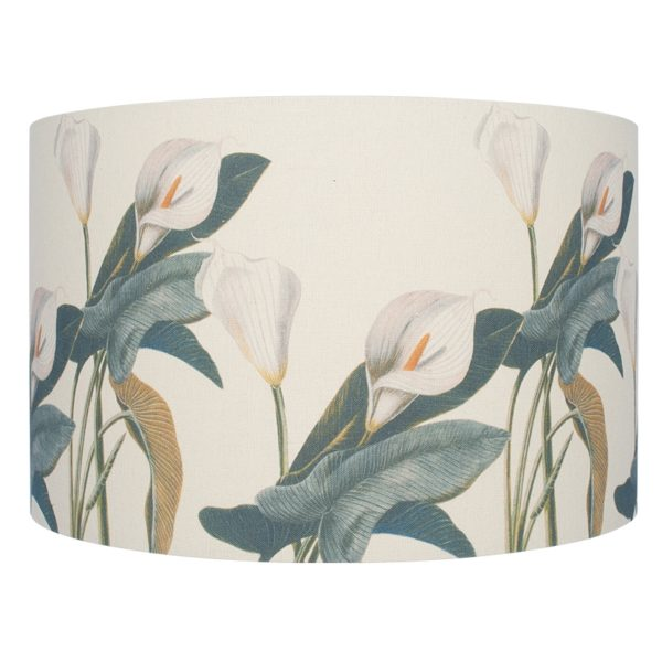 40cm Jenny Worrall Arum Lily Linen Shade