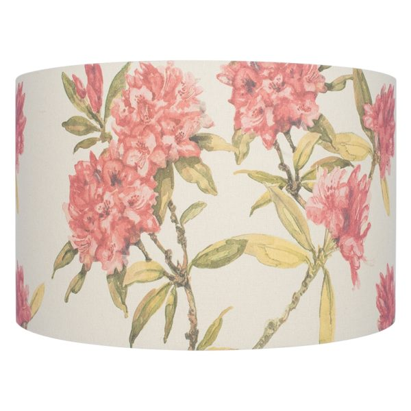 35cm Jenny Worrall Rhododendron Linen Shade