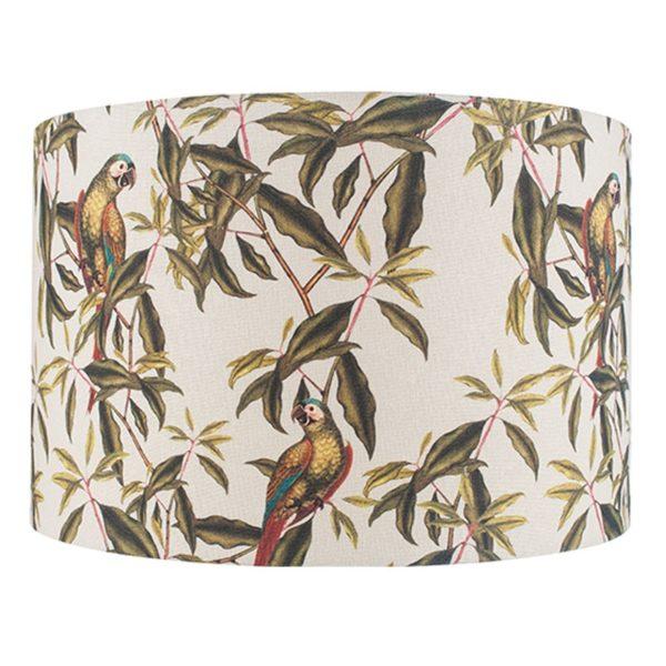 35cm Jenny Worrall Parrot Linen Shade