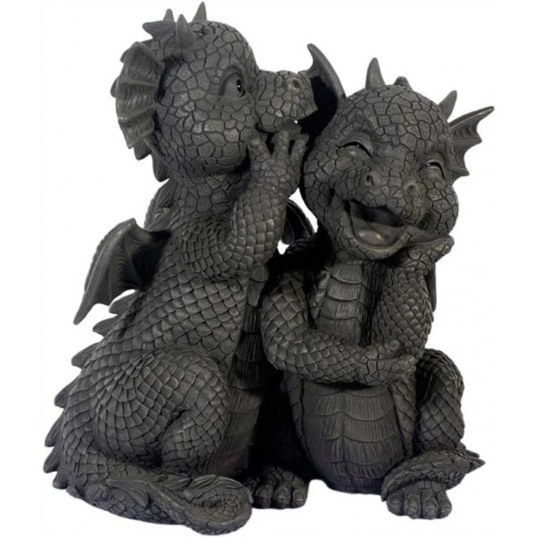 Garden Dragons - Laughing Twins