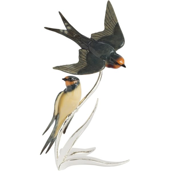 Nature's Realm Swallows Pair