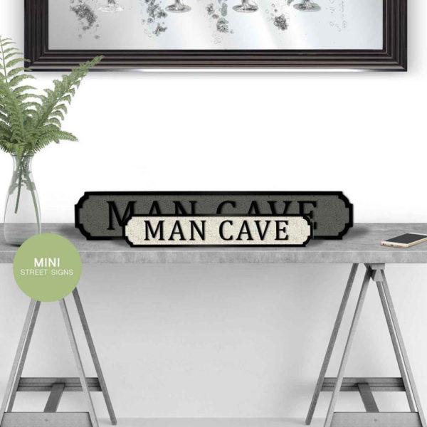 Man Cave - Vintage Style Street Sign